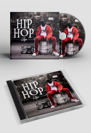 Hip Hop Mixtape Cd Cover