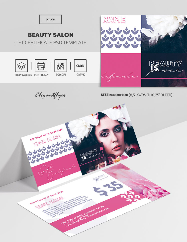 36+ Free Gift Certificate PSD Templates Ready for Print & Premium Version!