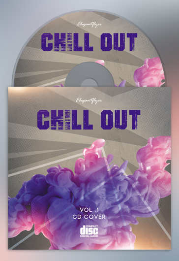 Chill Out – Premium CD Cover PSD Template