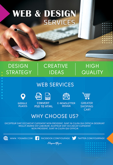 Design Services – Flyer Template