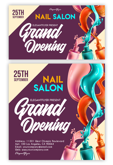 Grand Opening – Facebook Event + Instagram template