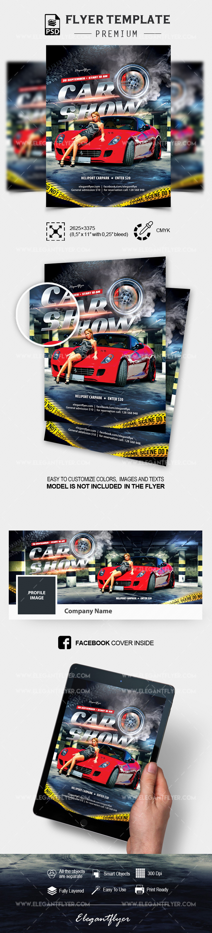 Car Show – Flyer PSD Template
