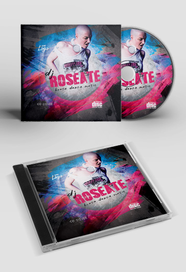 House party – FREE CD Cover PSD Template
