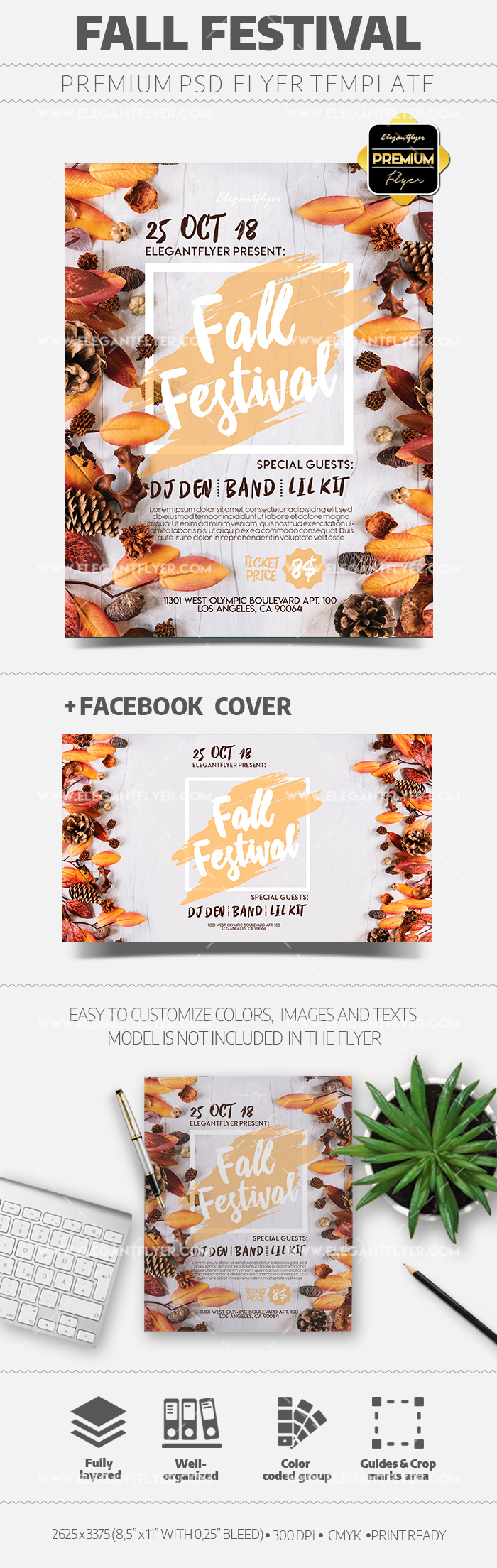 Fall Festival – Flyer Template