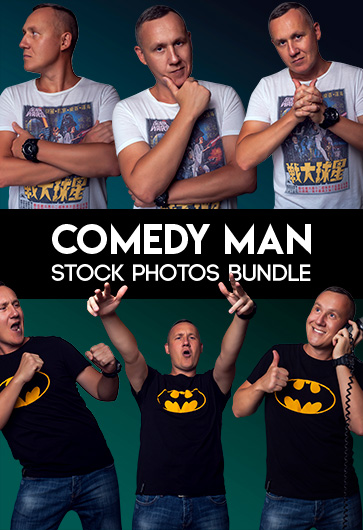 Free Comedy Man Stock Photos Bundle