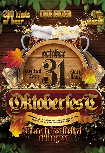 Octoberfest set – Free 3d Render Templates