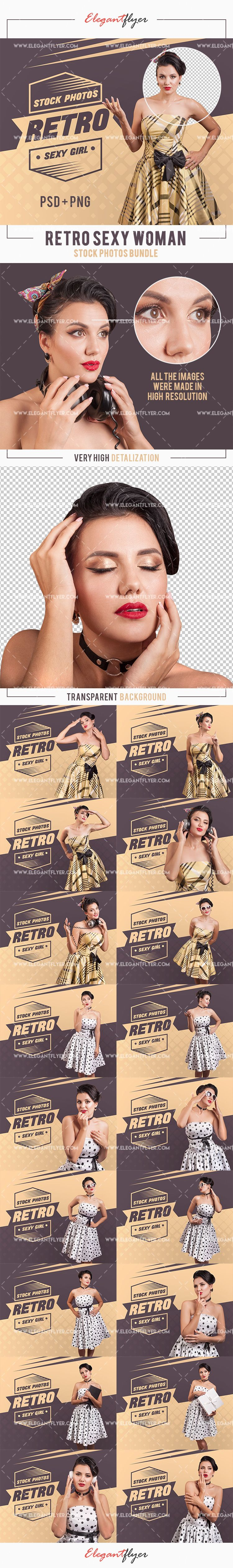 Free Stock Photos Bundle of Retro Sexy Woman