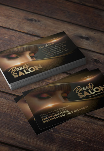 Beauty Salon – Premium Business Card