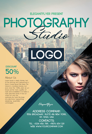 Free photography flyer templates psd by elegantflyer photography photography free flyer psd template maxwellsz