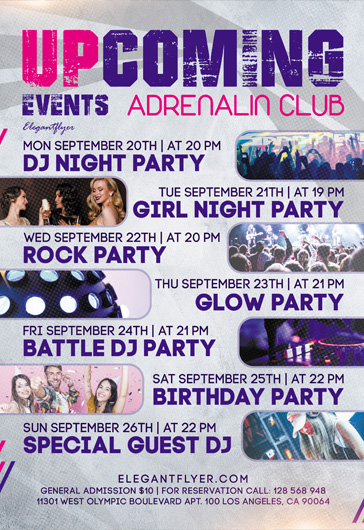 Color Beat Party – Flyer PSD Template