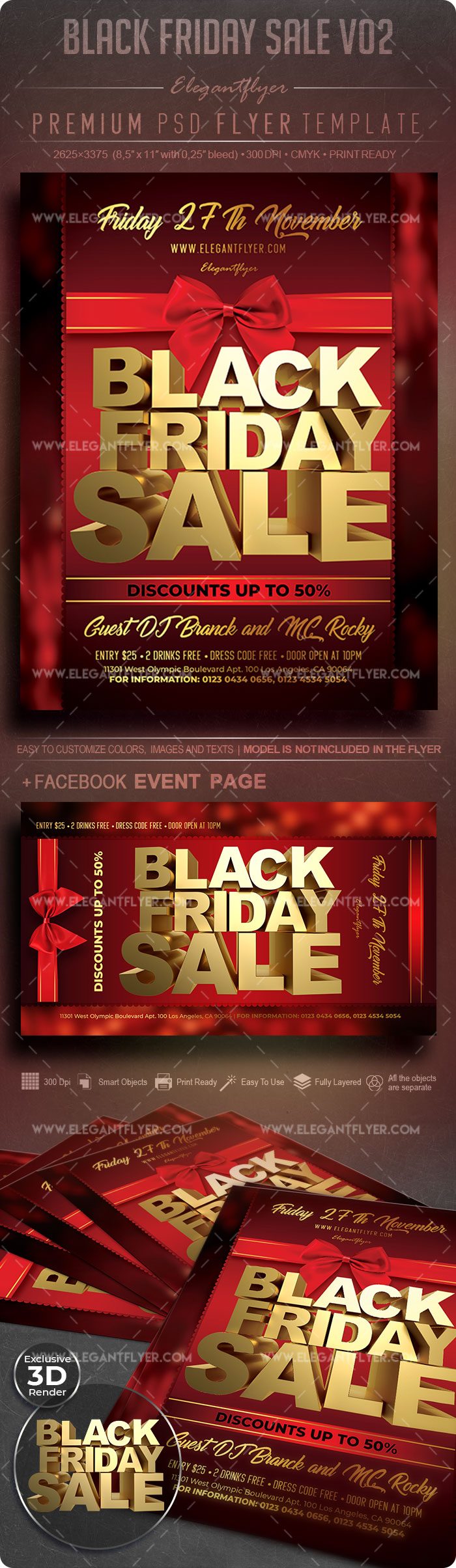 Black Friday Sale V02 – Flyer PSD Template