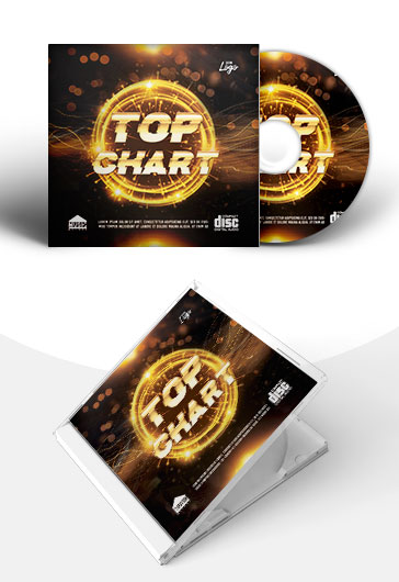 Top Chart – PSD Premium CD Cover Template