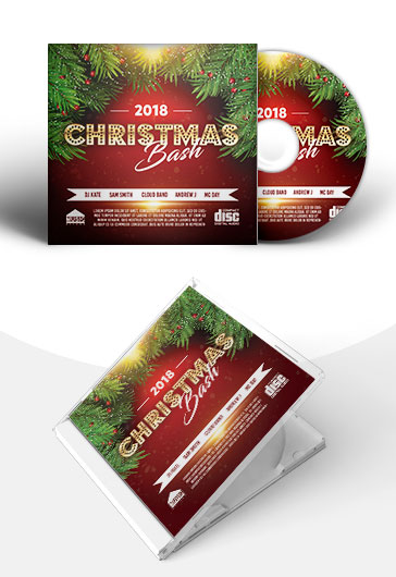Christmas Bash – PSD Premium CD Cover Template