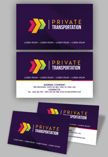 free business cards templates for photoshop by elegantflyer
