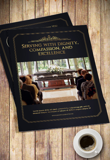 free funeral program templates category church flyers print classic