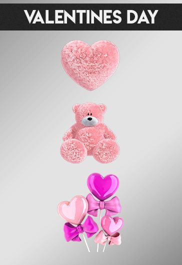 Valentines Day – Free 3d Render Templates