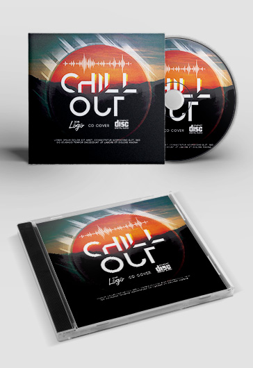 Chill Out – CD Cover PSD Template
