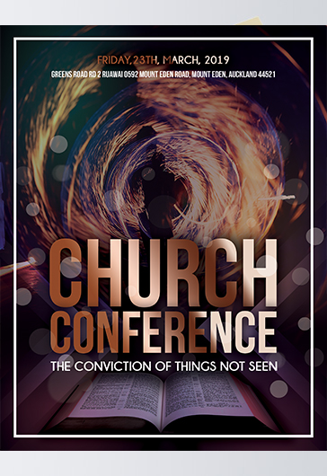 church event  u2013 free psd flyer template   facebook cover   instagram post  u2013 by elegantflyer