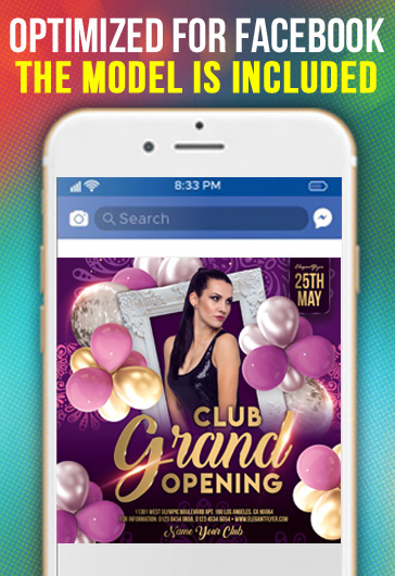Super Power Club Night – Instagram Stories Template in PSD + Post Templates