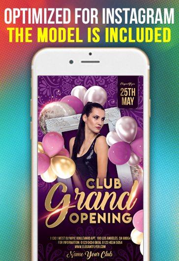Beauty party – Flyer PSD Template