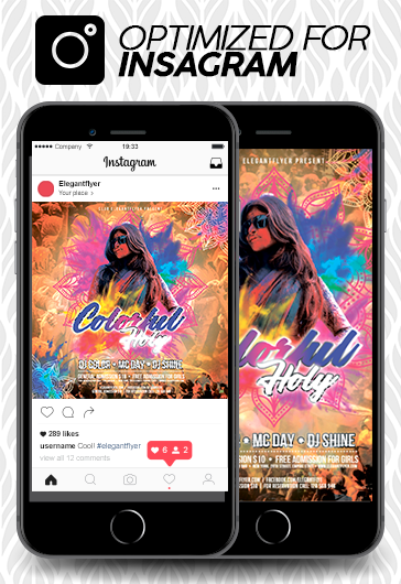 Music Festival – Free Animated Instagram Stories + Instagram Post + Facebook Cover