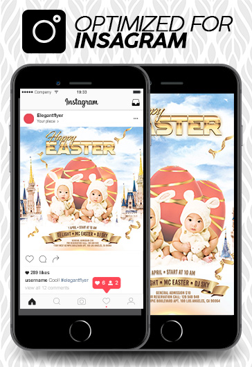 Mother's Day – Animated Instagram Stories + Instagram Post + Facebook Cover