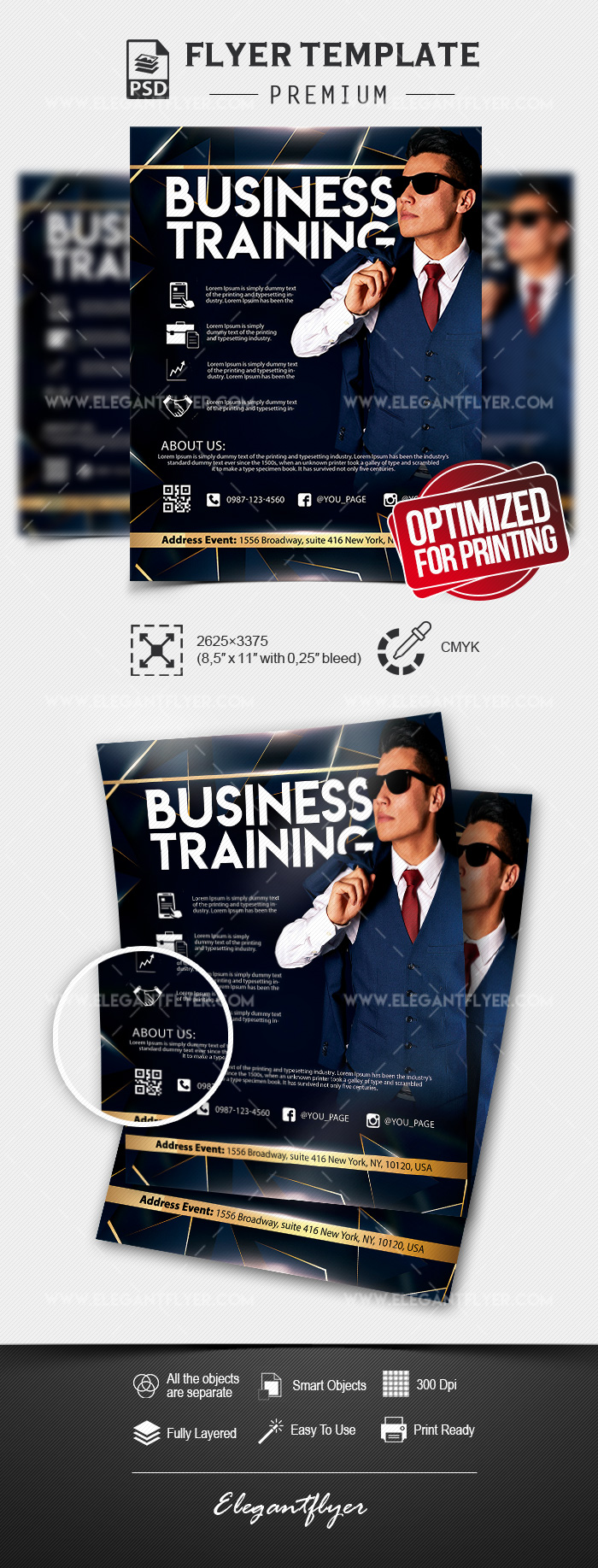 Business Training – Flyer PSD Template