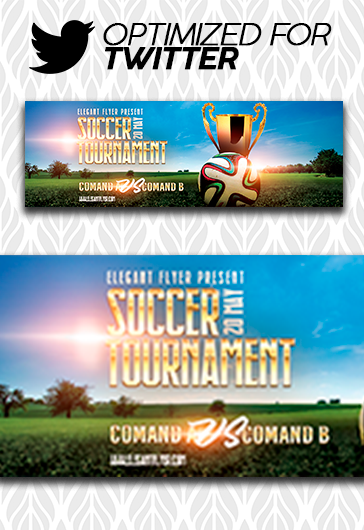 Soccer Championship – PSD Flyer Template + Facebook Cover + Instagram Post