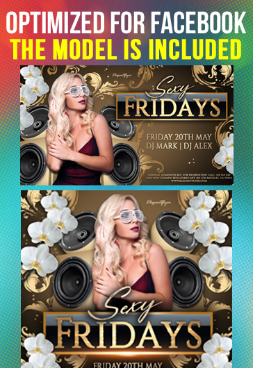 Luxury Night Club – Free Animated Instagram Stories + Instagram Post + Facebook Cover