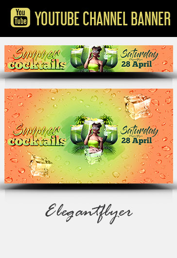 Exotic Time – Flyer PSD Template
