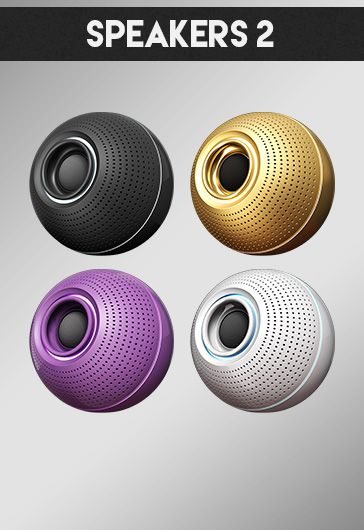 Speakers 2 – Free 3d Render Templates