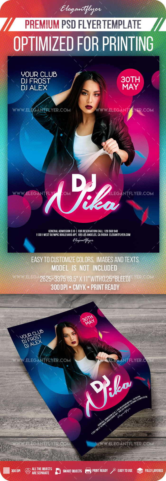 Special DJ Party – Premium PSD Flyer Template