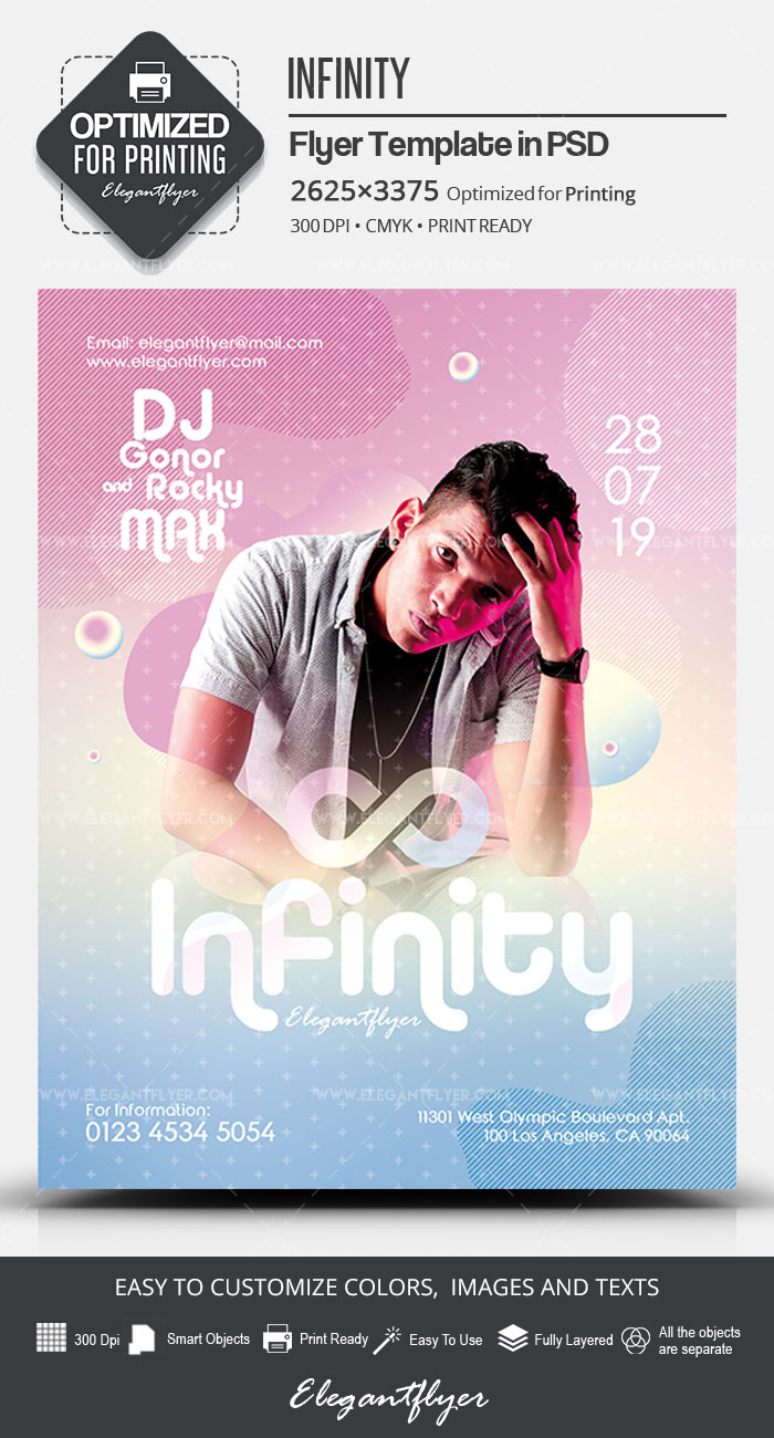 Infinity – PSD Flyer Template