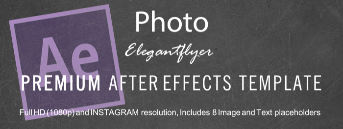 Photo Studio After Effects Template