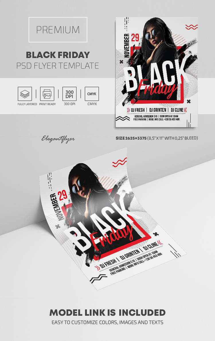Black Friday – Premium PSD Flyer Template