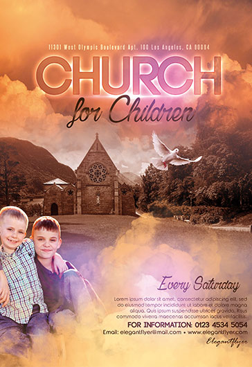 church flyers templates