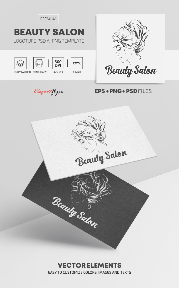 Beauty Salon – Premium Logo Template
