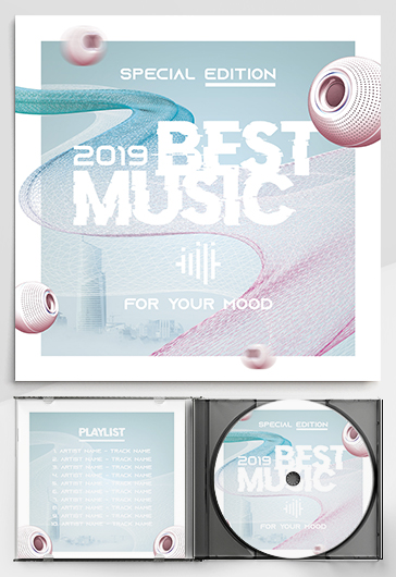 Free Cd Cover Templates in PSD  Download and Customize | by