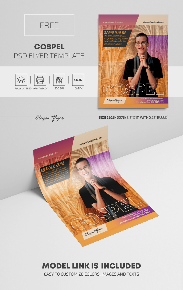 Gospel – Free PSD Flyer Template