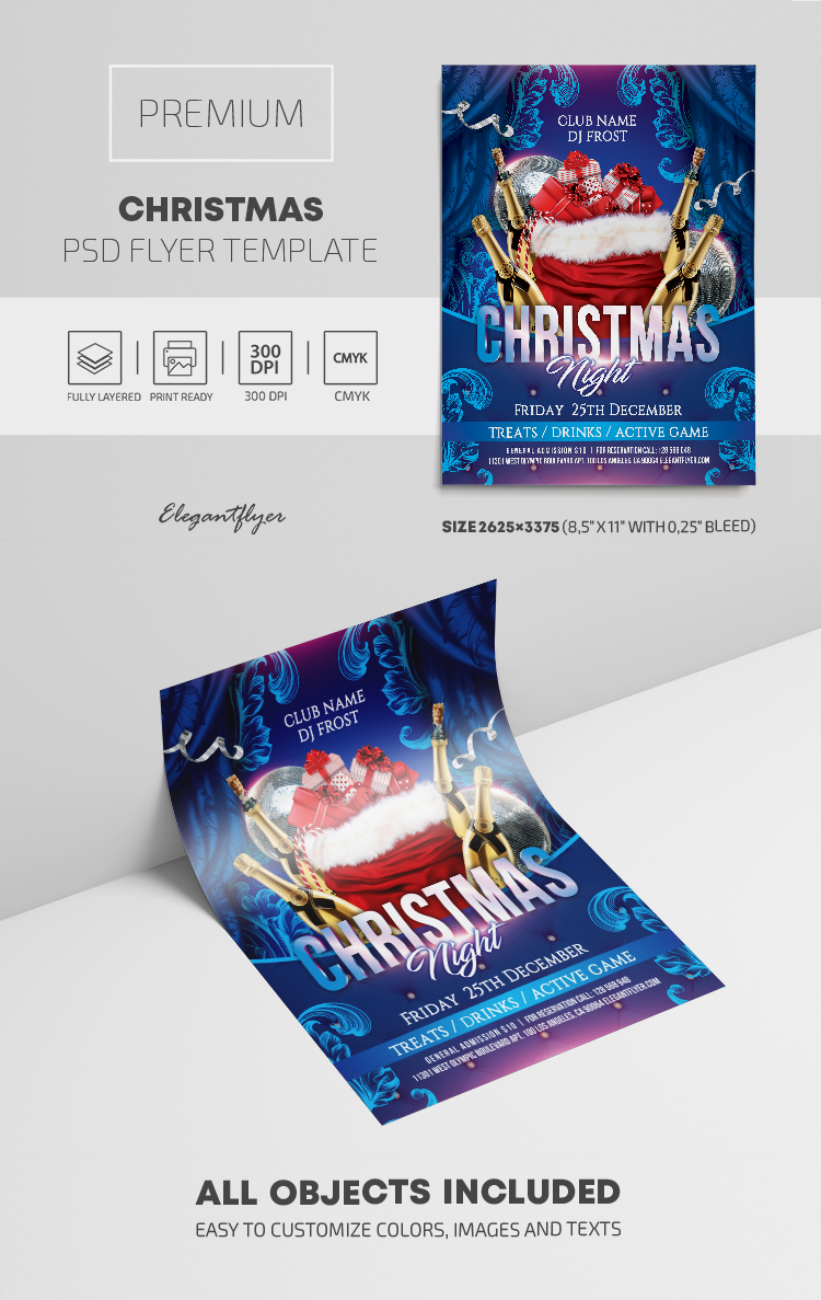 Christmas – Premium PSD Flyer Template