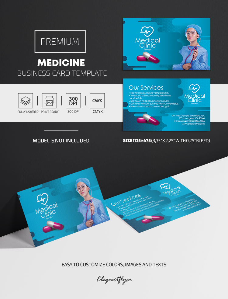 Medicine – Premium PSD Business Card Template