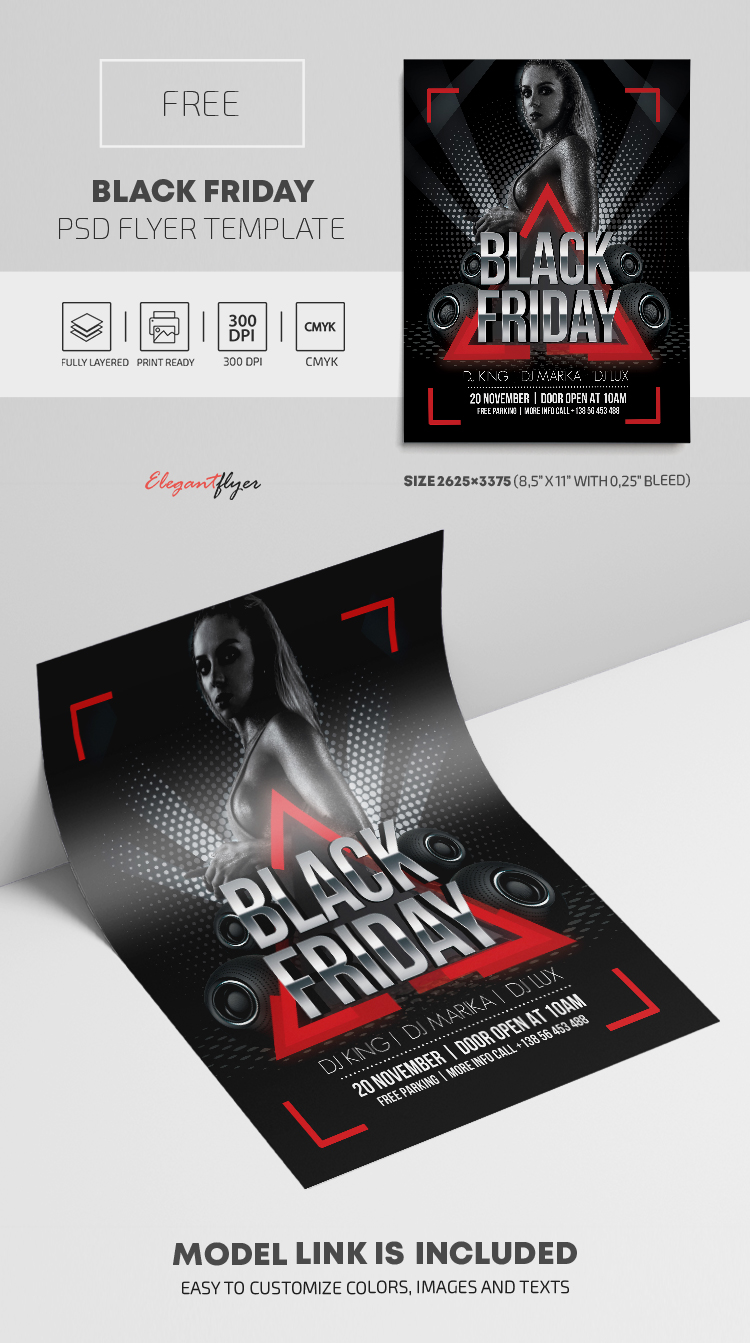 Black Friday – Free PSD Flyer Template