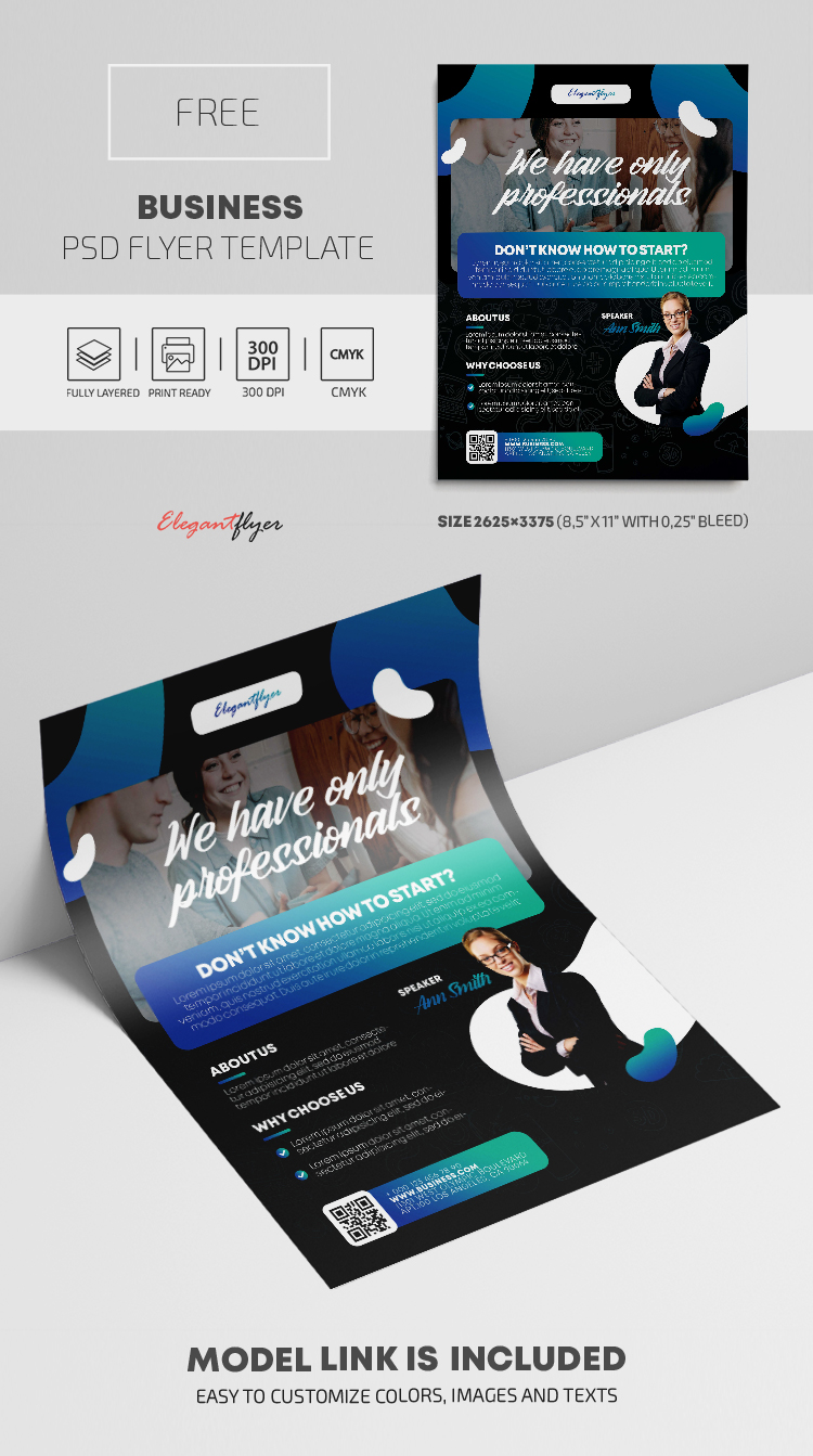 Business – Free PSD Flyer Template