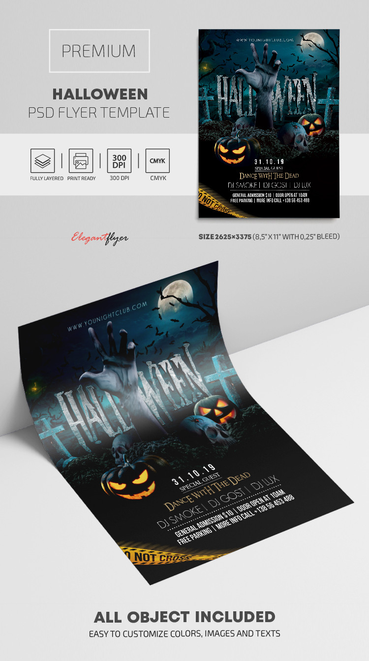Halloween – Premium PSD Flyer Template