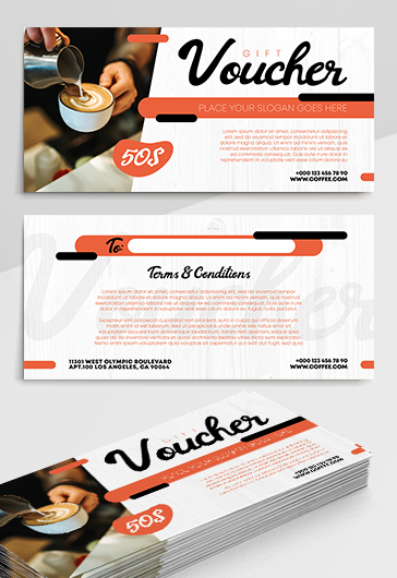 Free Gift Certificate Templates in PSD