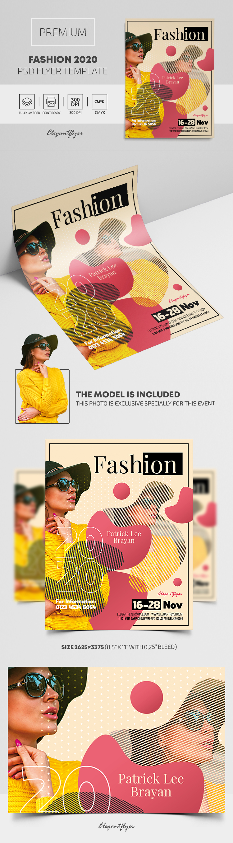 Fashion 2020 – PSD Flyer Template