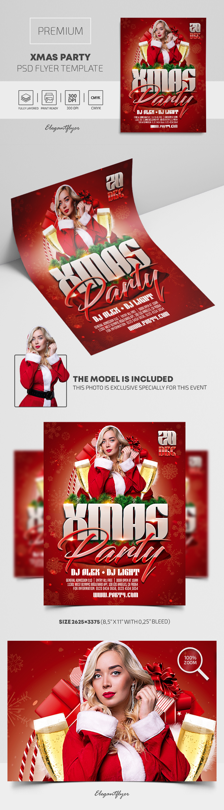 Xmas Party – Premium PSD Flyer Template