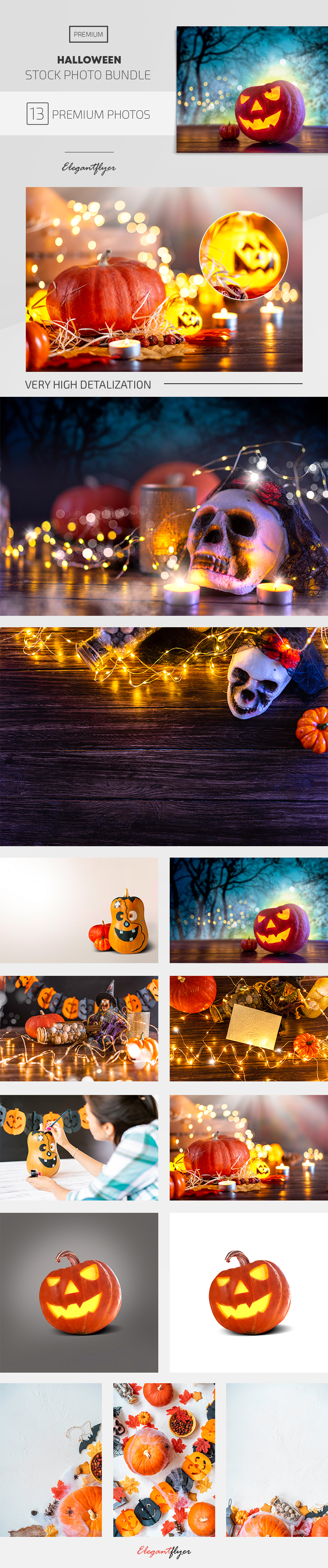 Halloween – 13 Premium Stock Photos Bundle