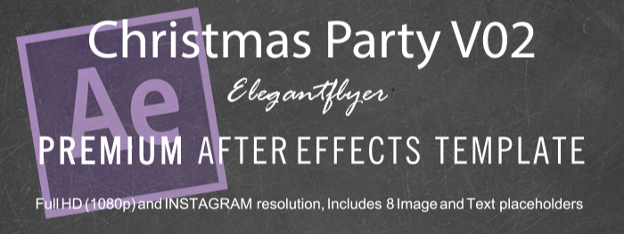 Christmas Party V02 After Effects Template