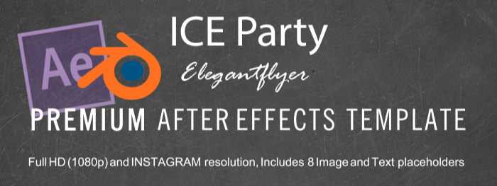 ICE Party After Effects Template